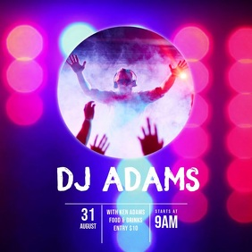 Dj party Video Ad Template