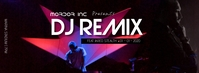 DJ REMIX Facebook Cover Photo template