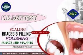 DOCTER DENTIST Poster template