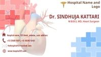 Doctor Visiting card Визитная карточка template