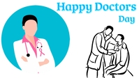 Doctors day Facebook Cover Video (16:9) template