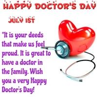 Doctors day Instagram Post template