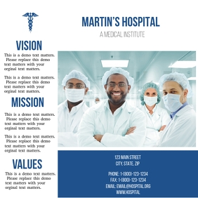 Doctors Medical Trifold Brochure