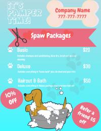 Dog Grooming Flyer