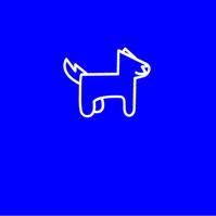 Dog Logo Logotipo template