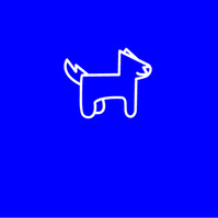 Dog Logo โลโก้ template