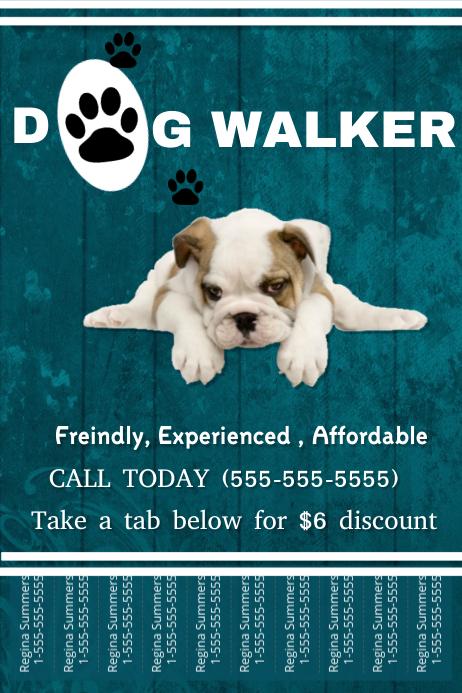 dog walker template