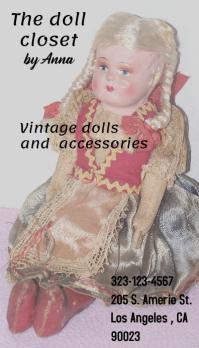 doll closet card