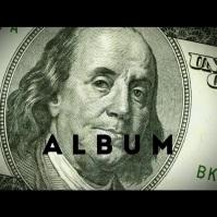 Dollar 100 money album cover video Okładka albumu template