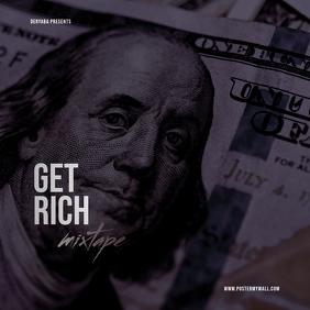 Dollar Money Mixtape Cover Rap Hip-Hop