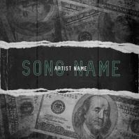 dollar money mixtape cover video template