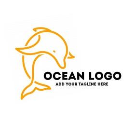 dolphin icon logo