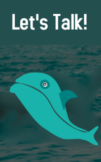 Dolphin Poster Kindle/Book Covers template