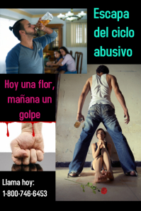 domestic abuse/child abuse/sexual abuse/women Plakat template