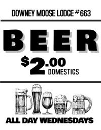 Domestic Beer Wednesdays