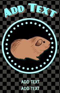 domestic pet guinea pig ( Cavia porcellus )