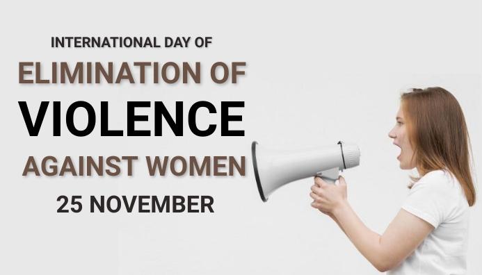 Domestic violence,stop violence, women rights Blog-Kopfzeile template