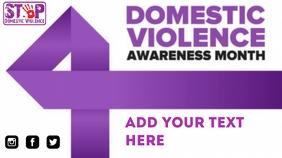 Domestic violence 演示(16:9) template