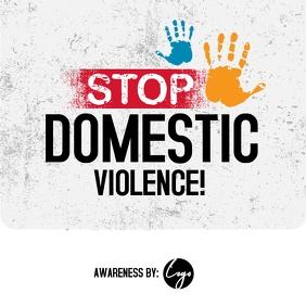 Domestic Violence Post template
