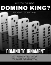 Domino Flyer Template