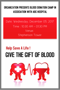 Customizable design templates for blood donation postermywall donate blood poster template stopboris Choice Image