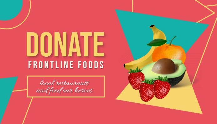 Donate Frontline Foods Koptekst blog template