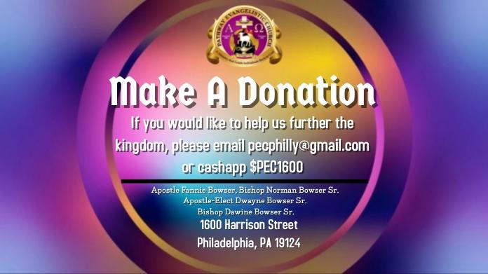 Donation Publicación de Twitter template