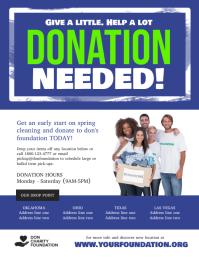 Donation Needed Charity Fundraiser