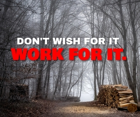 DONT WISH ..... JUST WORK QUOTE TEMPLATE