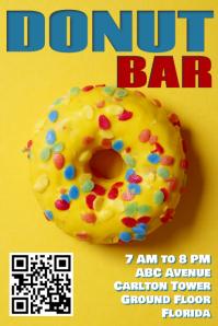Donut Bar Flyer Template1