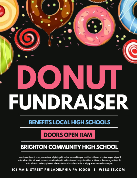 Donut Fundraiser