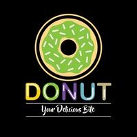 Donut Logo 徽标 template