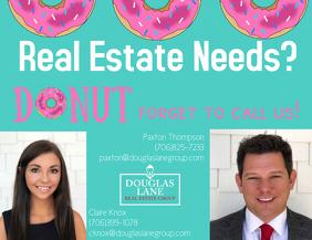 Donut Real Estate Flyer