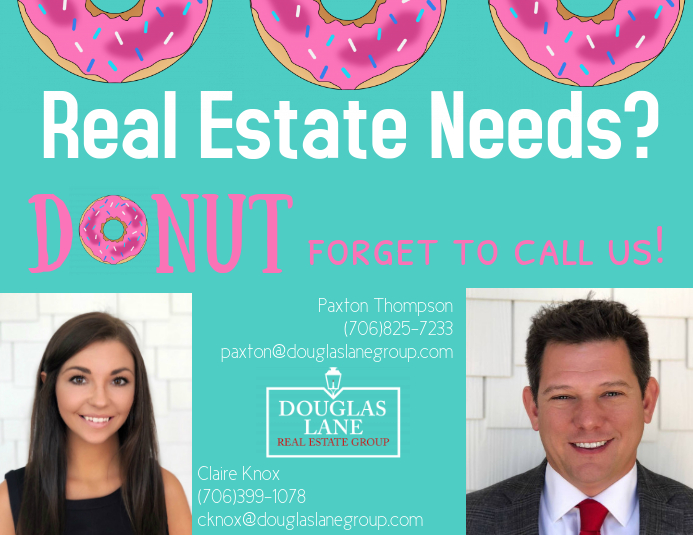 Donut Real Estate Flyer