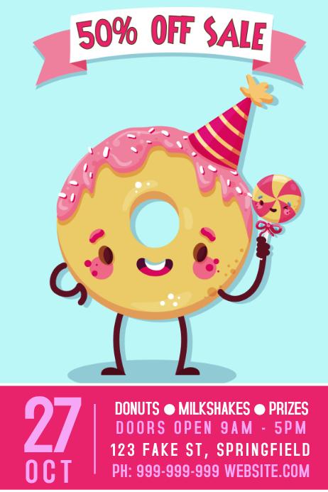 Donut Shop Poster