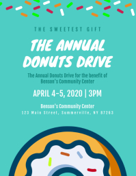 Donuts Drive Flyer