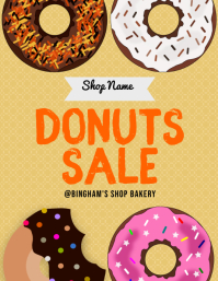 Donuts Sale Flyer