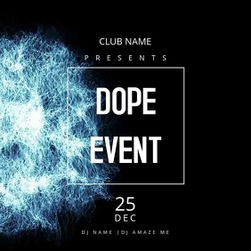 Dope Event Flyer