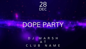 Dope Party - Concert Event Flyer