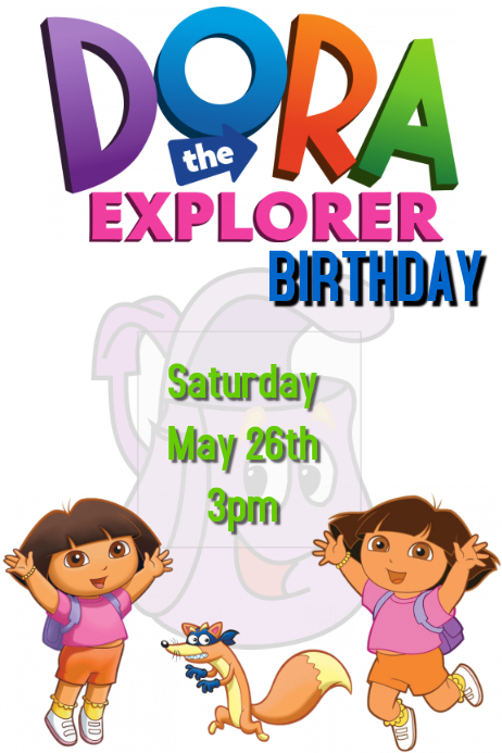 Dora The Explorer Birthday Party