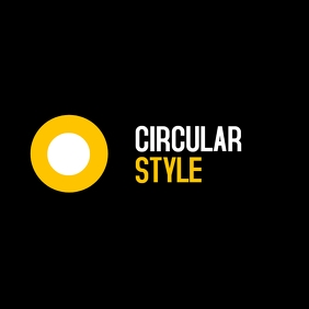 Double circle icon logo
