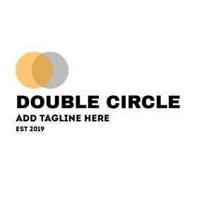 double circle logo