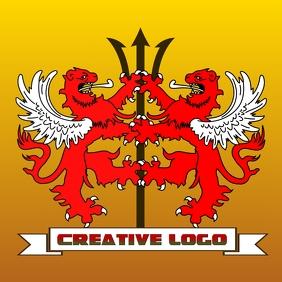 double lion logo