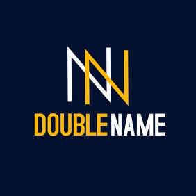double n logo icon