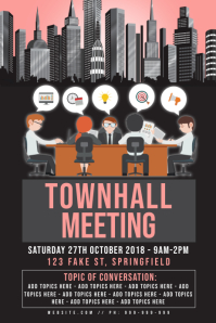Downhill Meeting Poster