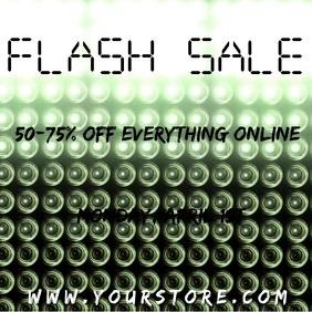 Downward Lights Flash Sale Video