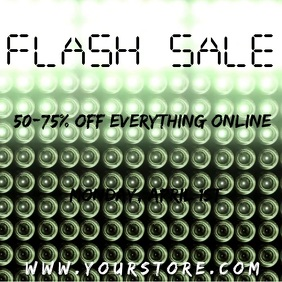 Downward Lights Flash Sale Video