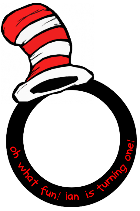 Dr Seuss Party Prop Frame Template Postermywall