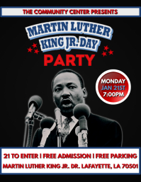 DR. MARTIN LUTHER KING JR. DAY FLYER