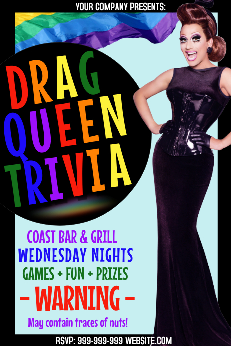 Drag Queen Trivia Poster